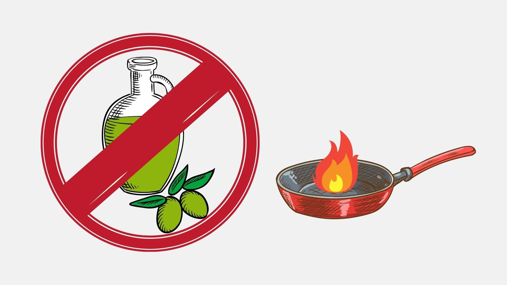 no olive oil for cooking