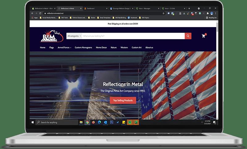 website design creation