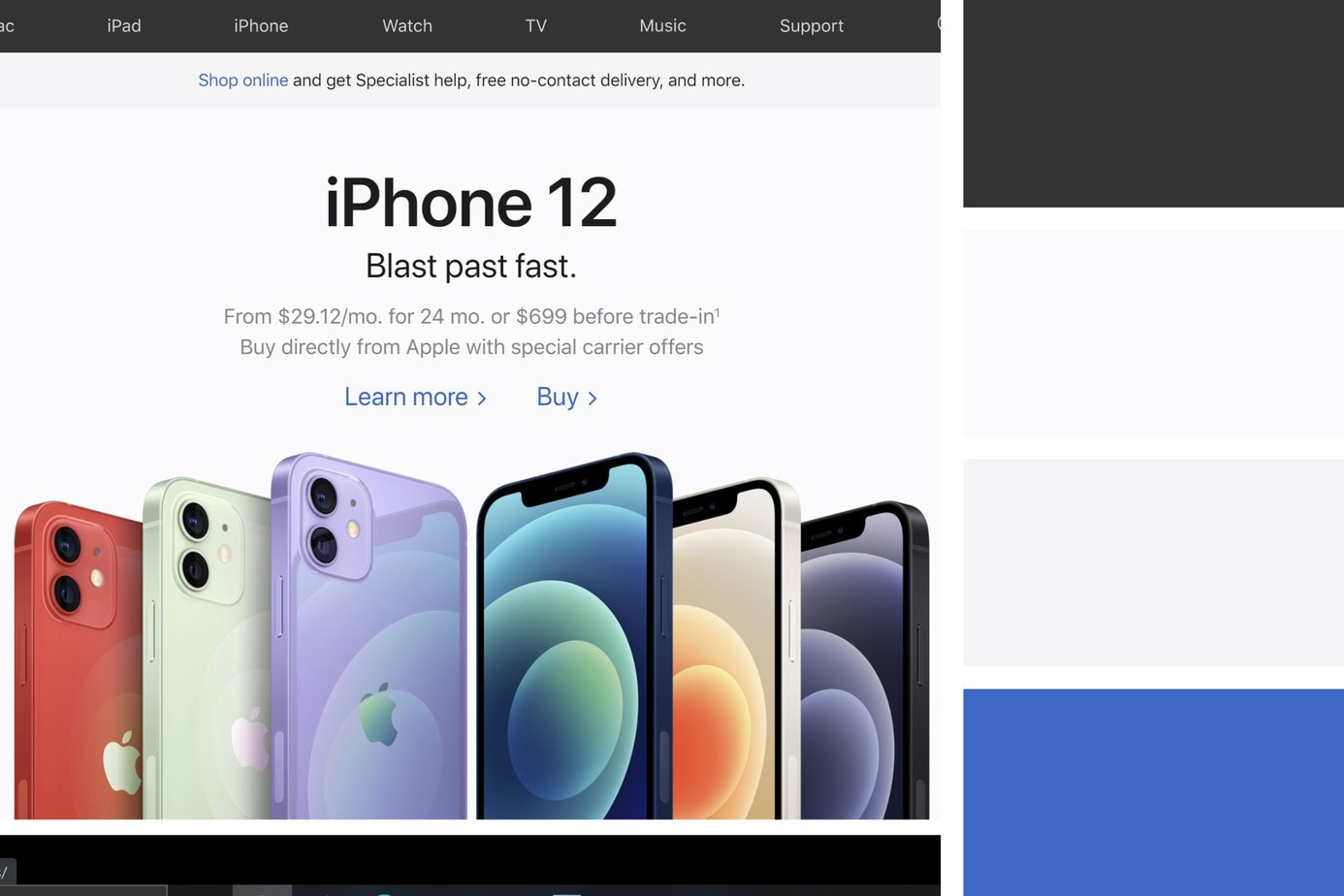 apple best website design