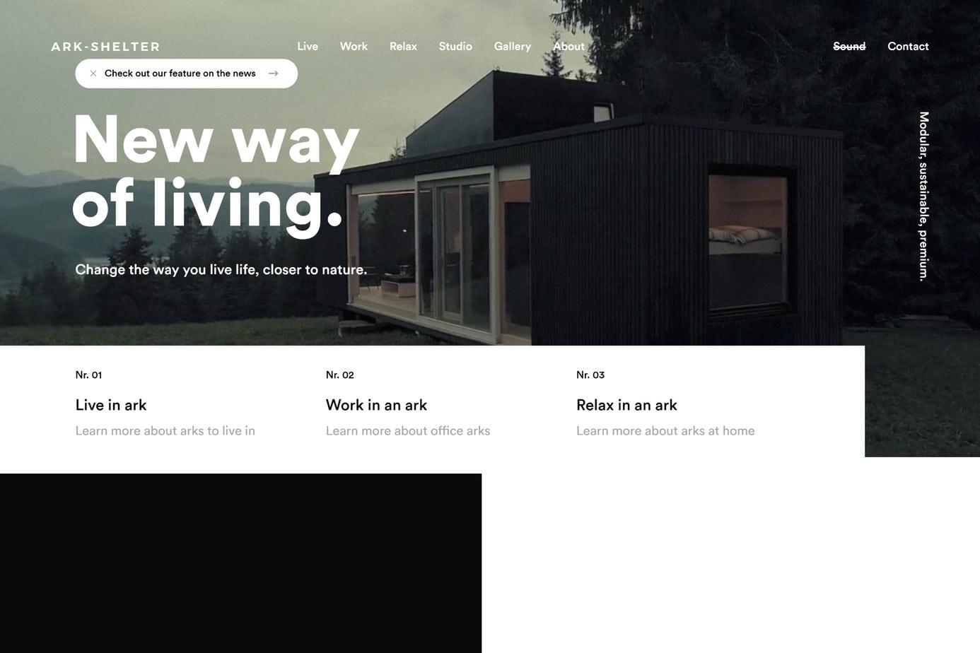 great design ark shelter