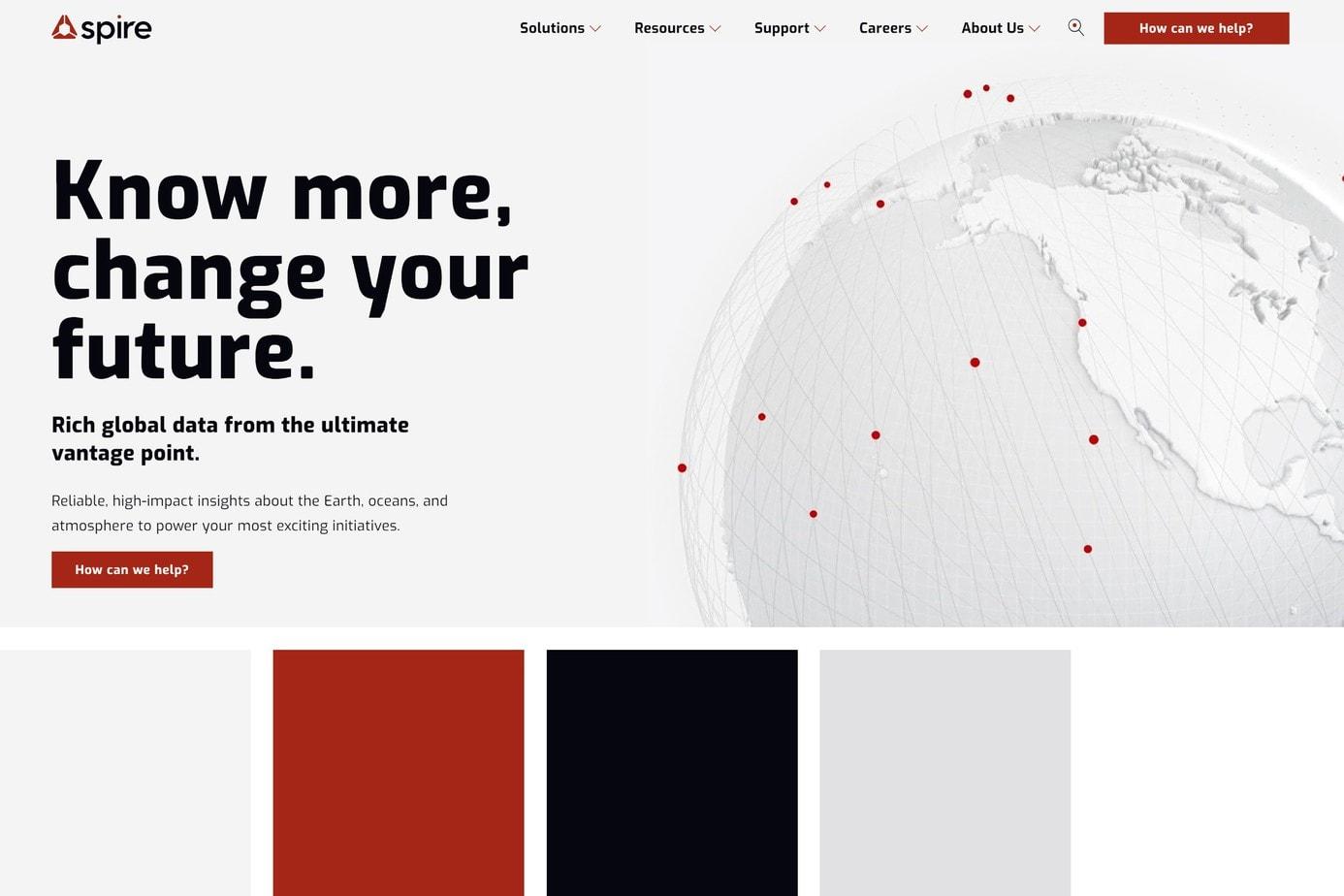 spire best website award