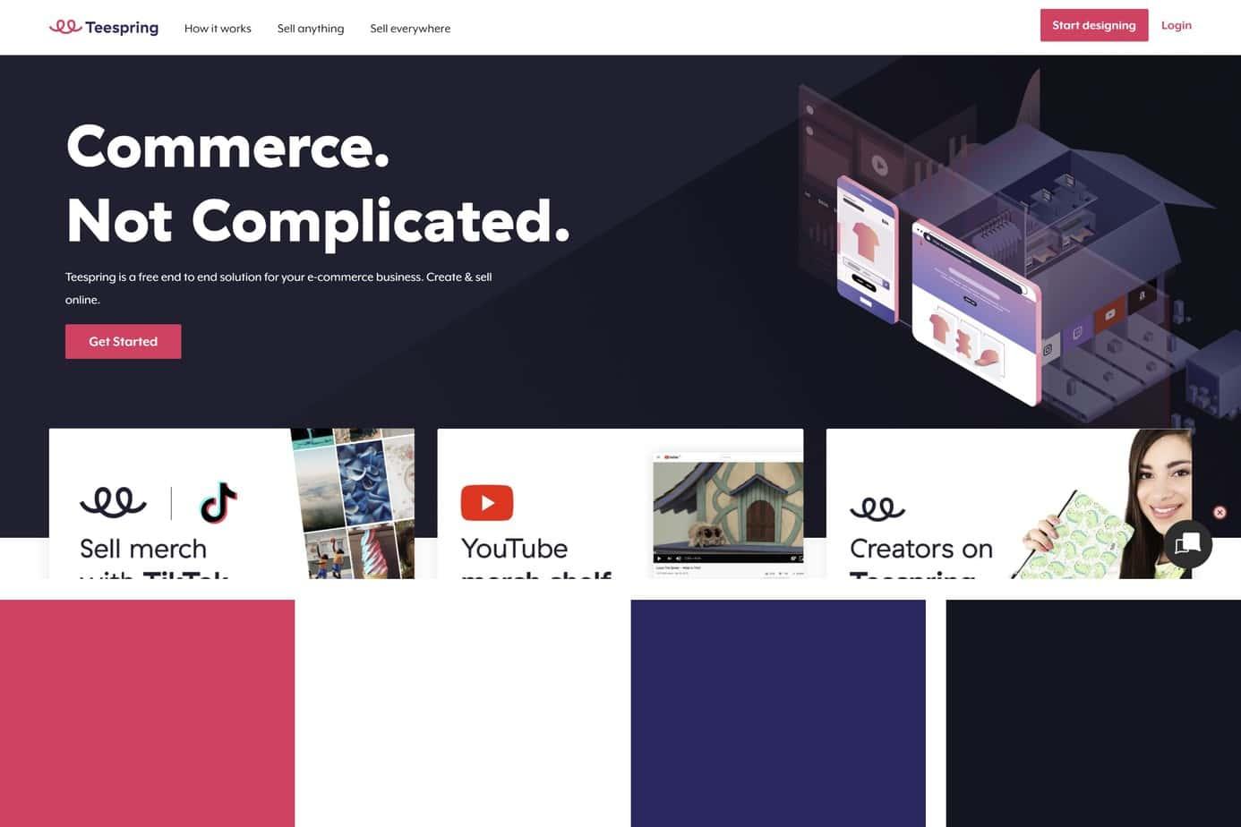 teespring best website